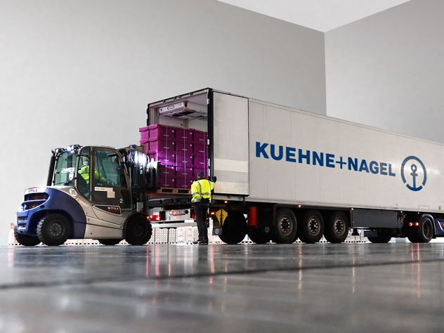 Kuehne+Nagel's European Pharma Fleet